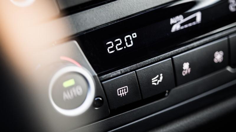 Klima za avto in nastavitev temperature